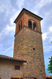 Iglesia de St. Silvestro. Salsomaggiore. Emilia-Romagna. Italia. imágenes de archivo libres de regalías