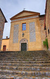 Iglesia de St. Silvestro. Salsomaggiore. Emilia-Romagna. Italia. fotos de archivo libres de regalías
