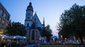 Iglesia de St Thomas en Leipzig, Alemania metrajes