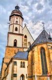 Iglesia de St Thomas en Leipzig, Alemania imagen de archivo libre de regalías