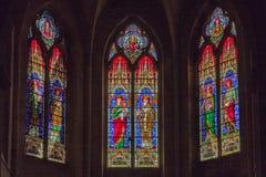 Iglesia de St Trophime Arles Provence Francia Foto de archivo libre de regalías