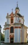 Iglesia de st Vaclava, Litomerice, República Checa fotografía de archivo libre de regalías