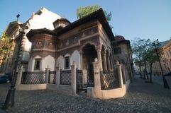 Iglesia de Stavropoleos Orhtodox Fotografía de archivo