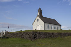 Iglesia de Strandarkirkja en Islandia Fotos de archivo libres de regalías