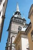 Iglesia de Tallin viejo Imágenes de archivo libres de regalías