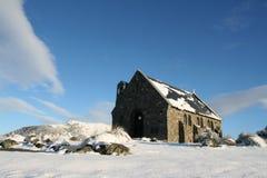 Iglesia de Tekapo, Nueva Zelandia Imagen de archivo libre de regalías