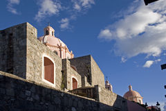 Iglesia de Tequisquiapan Imagenes de archivo