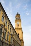Iglesia de Theatiner en Munich Imagenes de archivo