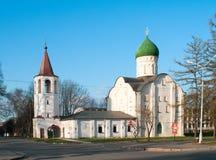 Iglesia de Theodore Stratelates Ilyin Street imagen de archivo libre de regalías
