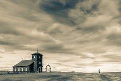 Iglesia de Thingeyrar Imagen de archivo libre de regalías