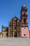 Iglesia de Tlalpujahua Michoacan Fotos de archivo libres de regalías