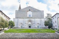 Iglesia de Todi Fotografía de archivo libre de regalías