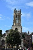 Iglesia de todo el pavimento York de los santos Fotos de archivo libres de regalías