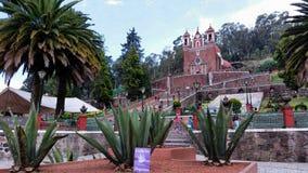Iglesia de Toluca imagen de archivo