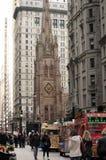 Iglesia de trinidad New York City Fotografía de archivo libre de regalías