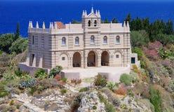 Iglesia de Tropea Foto de archivo