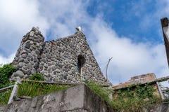 Iglesia de Tukon en Basco, Batanes Imagen de archivo