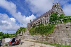 Iglesia de Tukon en Basco, Batanes Imagen de archivo libre de regalías