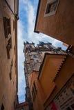 Iglesia de Tyn en Praga imagen de archivo libre de regalías