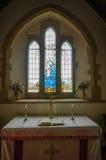 Iglesia de Tyneham Fotografía de archivo