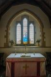 Iglesia de Tyneham Foto de archivo libre de regalías