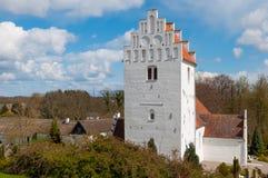 Iglesia de Udby en Dinamarca Imagen de archivo libre de regalías