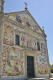 Iglesia de Valega Fotos de archivo libres de regalías