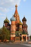 Iglesia de Vasiliy Blazhenniy en Moscú Fotos de archivo libres de regalías