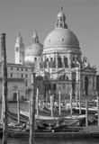 Iglesia de Venecia - de Santa Maria della Salute Fotos de archivo libres de regalías
