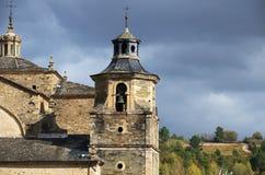 Iglesia de Villafranca del Bierzo Leon Spain Foto de archivo