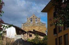 Iglesia de Villafranca del Bierzo Leon Spain Imagenes de archivo