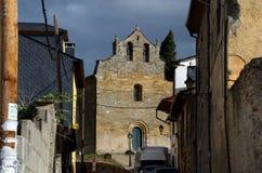 Iglesia de Villafranca del Bierzo Leon Spain Fotografía de archivo libre de regalías