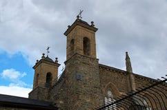 Iglesia de Villafranca del Bierzo Leon Spain Foto de archivo libre de regalías