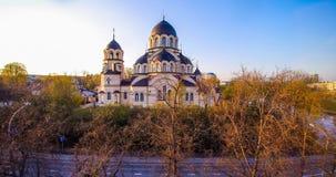 Iglesia de Vilna Imagenes de archivo