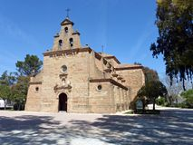 Iglesia de Virgen de linarejos Fotografía de archivo
