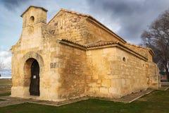 Iglesia de Visigotic de San Juan de Baños en España imágenes de archivo libres de regalías