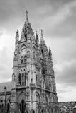 Iglesia de Voto Nacional del de la basílica en Quito, Ecuador Imágenes de archivo libres de regalías