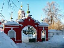 Iglesia de Vozdvizhenskaya Rusia, obl de Vladimirskaya g Vyazniki Foto de archivo