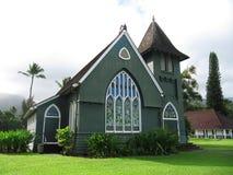 Iglesia de Waioli Huiia en Hanalei, Kauai, Hawaii Fotos de archivo libres de regalías