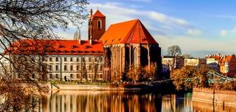 Iglesia de Wroclaw Fotografía de archivo