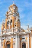 Iglesia de Xalteva 格拉纳达尼加拉瓜 库存图片