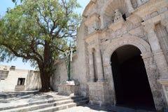 Iglesia de Yanahuara arequipa peru Stockfoto