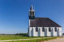 Iglesia de Zeemanskerk en Oudeschild en la isla de Texel Imagen de archivo