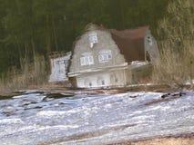 Iglesia de Znamenskaya en Dubrovitsy foto de archivo libre de regalías