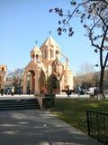 Iglesia de Zoravor del santo Imagen de archivo libre de regalías