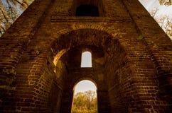 Iglesia del abandono en Georgia Fotos de archivo libres de regalías