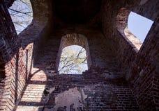 Iglesia del abandono en Georgia Foto de archivo
