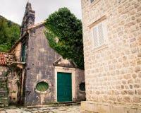 Iglesia del abandono en Montenegro Imagen de archivo libre de regalías