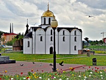 Iglesia del anuncio en Vitebsk, Bielorrusia Fotografía de archivo