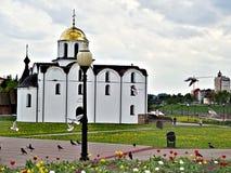 Iglesia del anuncio en Vitebsk, Bielorrusia Imágenes de archivo libres de regalías